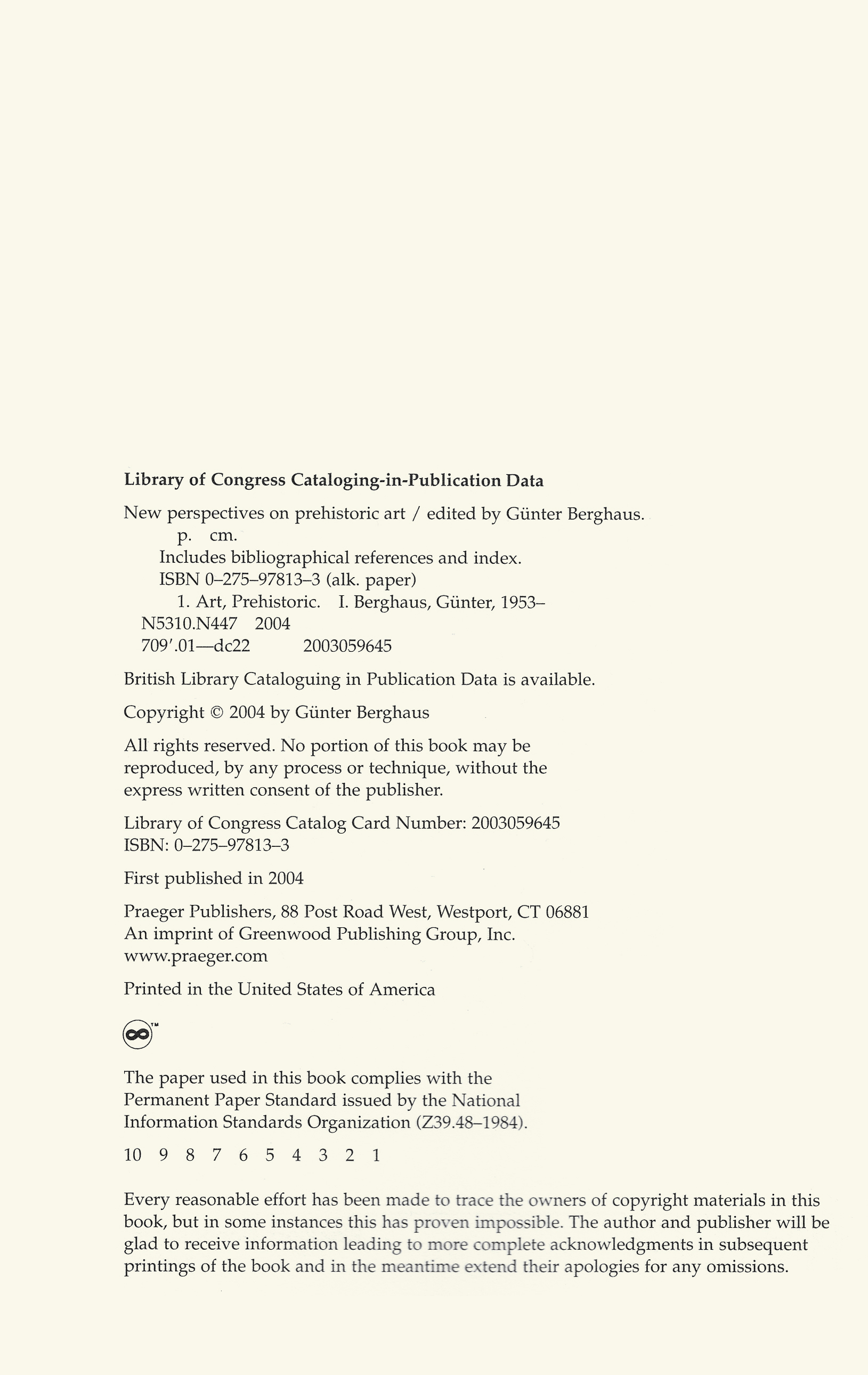 CIP and Copyrigth Notice