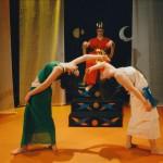 Dumuzi Entertained by Dancers