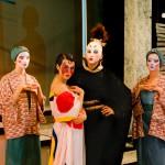 Turandot, Emperor + Maids
